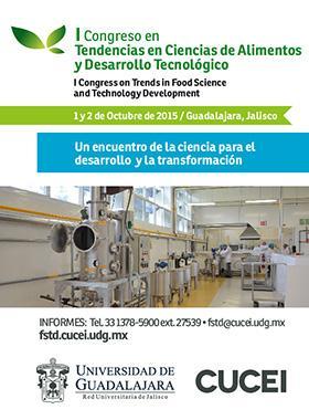 Tendencias en Ciencias de Alimentos y Desarrollo Tecnológico