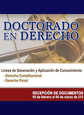 Doctorado en Derecho