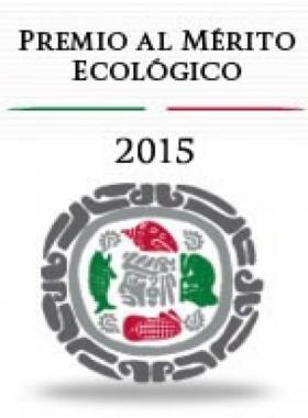 Convocatoria Premio al Mérito Ecológico 2015.