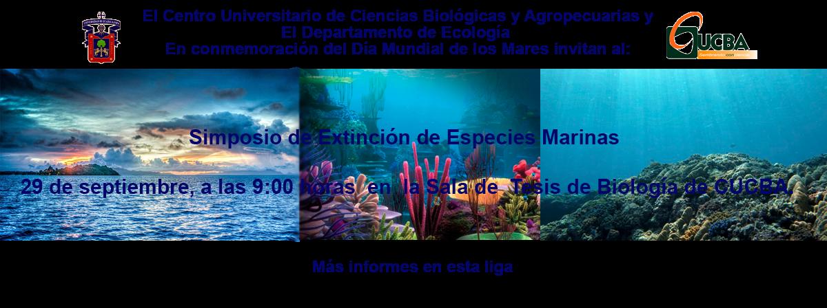 Simposio extinción especies marinas