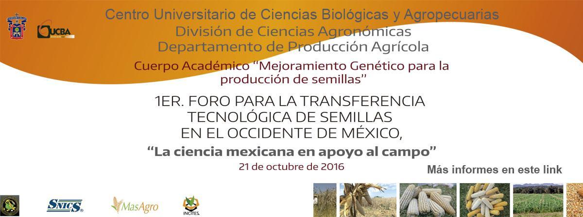 Transferencia Tecnológica de semillas en el occidente de México.