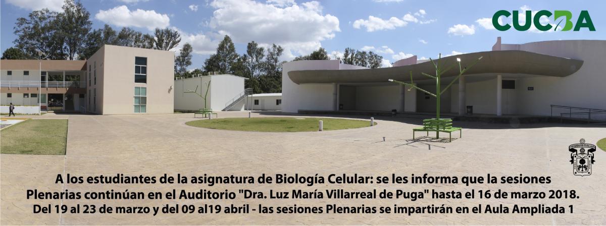 Plenaria Biología Celular
