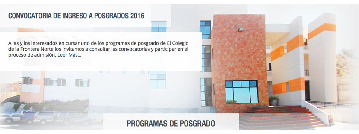 programas de posgrado